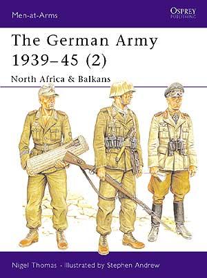 二战德军军服图册,第2集-北非和巴尔干
