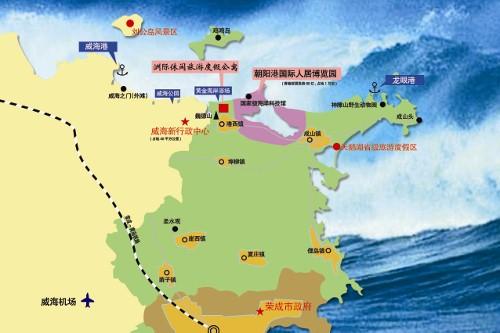荣成旅游地图,出售 其他 中国.威海洲际休闲旅游度假区4398元 ㎡起 图片