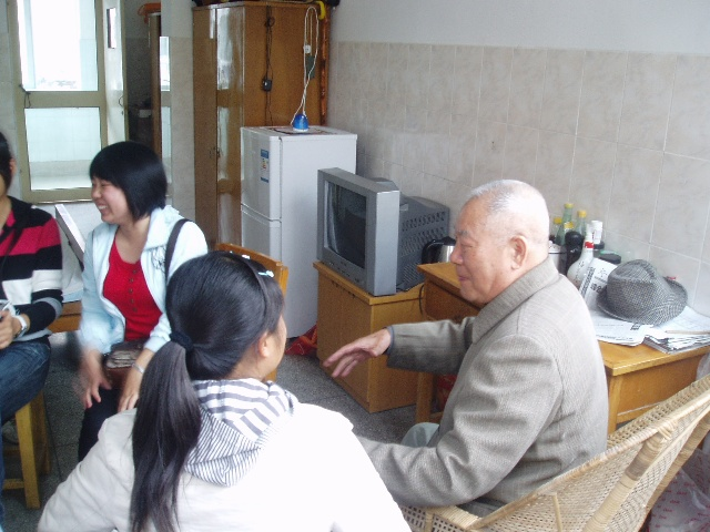 关爱老人之行活动图片