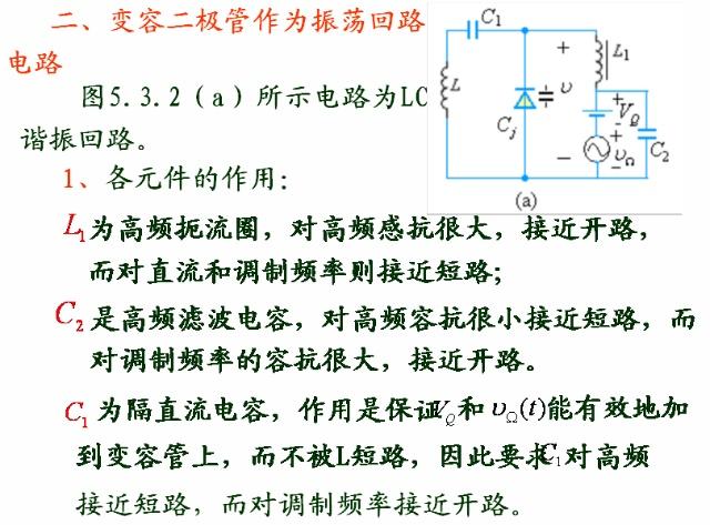 变容二极管直接调频电路