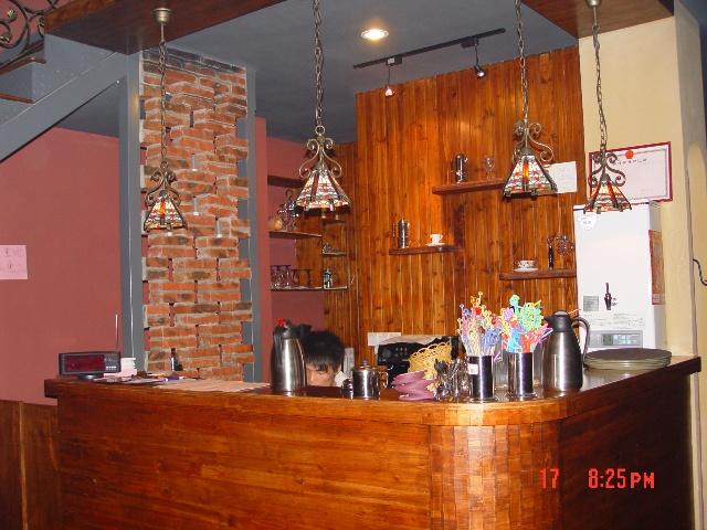 超级爱的地中海风格咖啡厅装修一