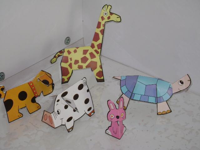 (六)我和宝贝制作的小动物