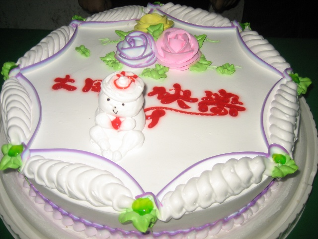 儿童属马生日蛋糕