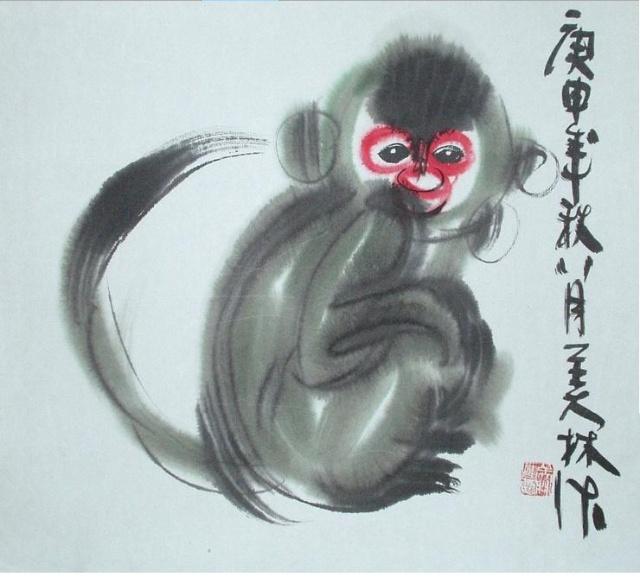 韩美林的动物画