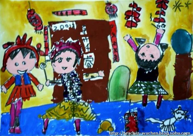 寒假班 儿童画