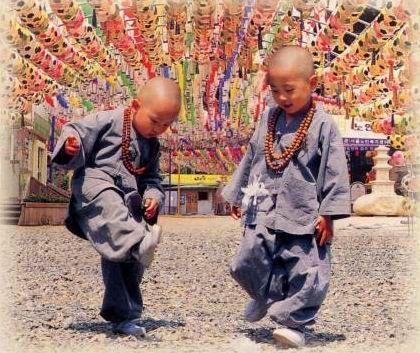 可爱的韩国小和尚-飞雪伊人-我的搜狐