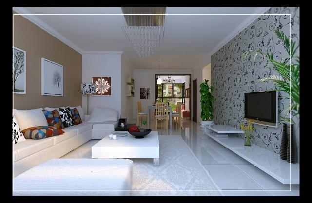 客厅走廊吊顶造型图片大全 进户与 客厅 客厅1 走廊