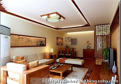 风格的家具木质边框和暖色