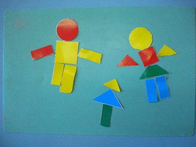 几何图形拼贴画_幼儿几何图形 -几何图形拼贴画 几何图形手工拼贴画