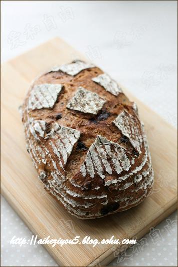 德博全麦黑面包_星野天然酵母全麦葡萄干面包黑芝麻红豆面包-爱和自由-搜狐博客